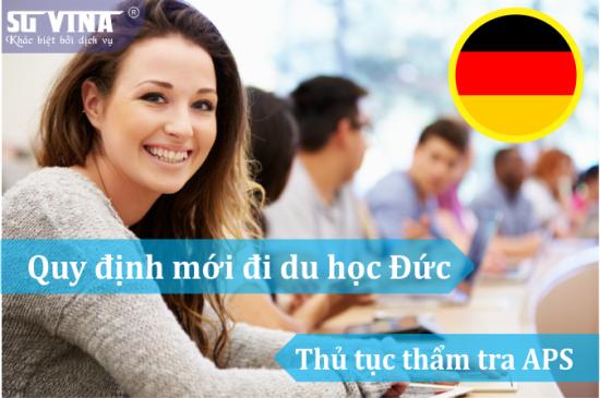 Những đổi mới trong điều kiện đi du học Đức