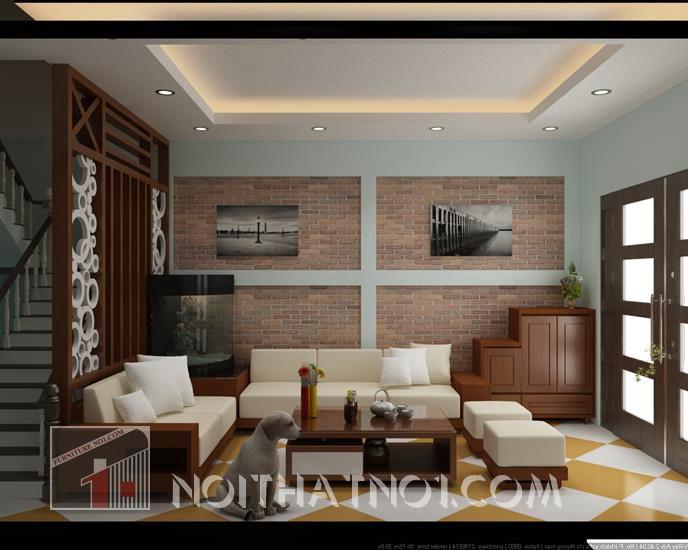 Sofa gỗ tiện nghi