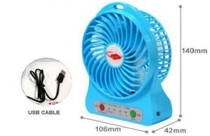 Quạt sạc tích điện mini có 3 chế độ gió giúp bạn có thể điều chỉnh theo sở thích và nhu cầu sử dụng.