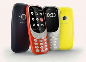 Nokia 3310 có thiết kế mới với nhiều màu sắc trẻ trung
