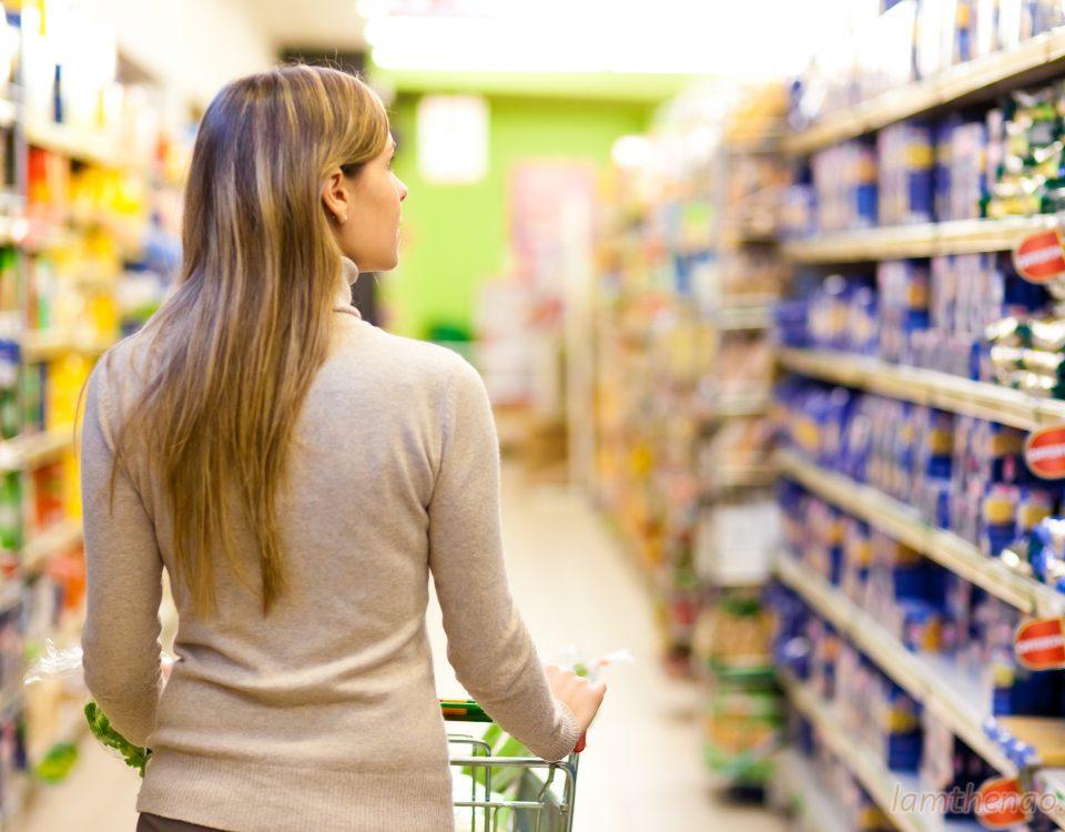 Kinh nghiệm đi siêu thị của người tiêu dùng thông minh