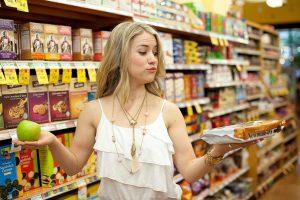 Không đi mua hàng lúc đói để tránh tình trạng mua những thứ không cần thiết