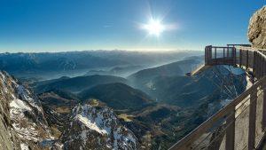 Sông băng Dachstein ở Áo
