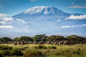 Núi Kilimanjaro ở Tanzania