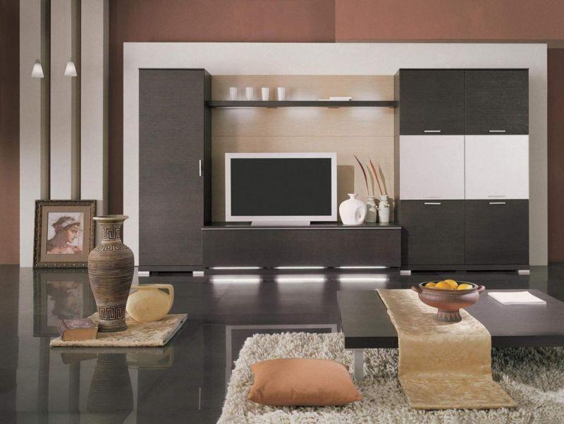 Làm cho phòng khách sang trọng và hiện đại hơn với sơn