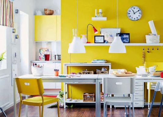 Mạng Thổ sơn nội thất nhà màu gì?