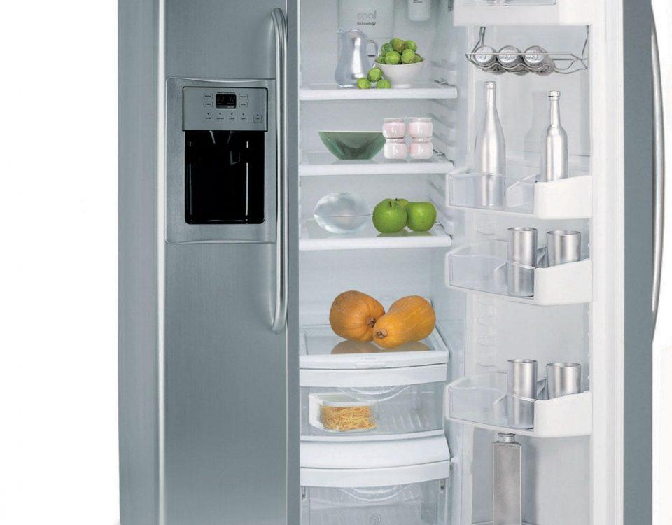 Tủ lạnh bị hỏng.