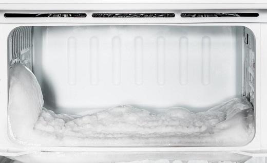 Hình ảnh tủ lạnh bị đông đá