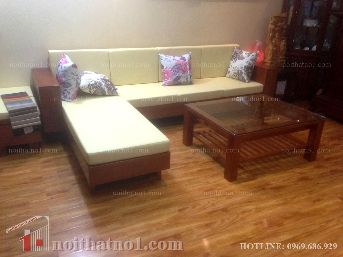 mẫu bàn ghế gỗ chữ L cao cấp nhất