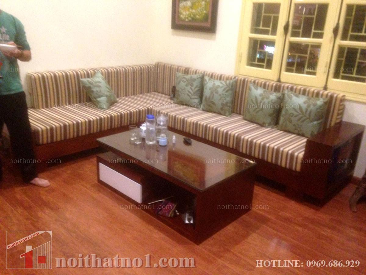 Chọn mẫu bàn ghế phòng khách nhà ống cao cấp