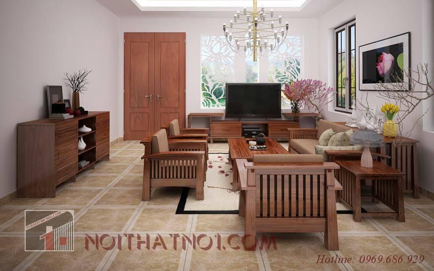 Bộ bàn ghế sofa gỗ phòng khách đẹp nhất