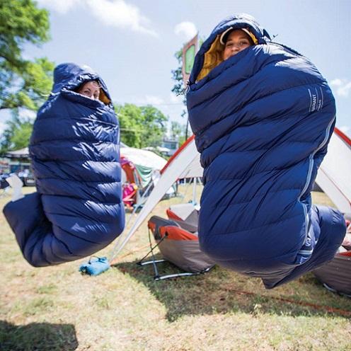 Túi ngủ - dòng sản phẩm giúp giữ ấm cơ thể