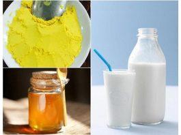 Uống tinh bột nghệ với sữa tươi bí quyết bạn không nên bỏ qua