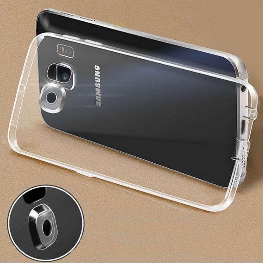 Ốp lưng silicon trong suốt giúp tôn vinh nét đẹp của điện thoại