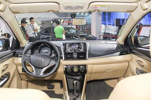 Nội thất xe Toyota Vios có gì hấp dẫn so với những dòng xe khác