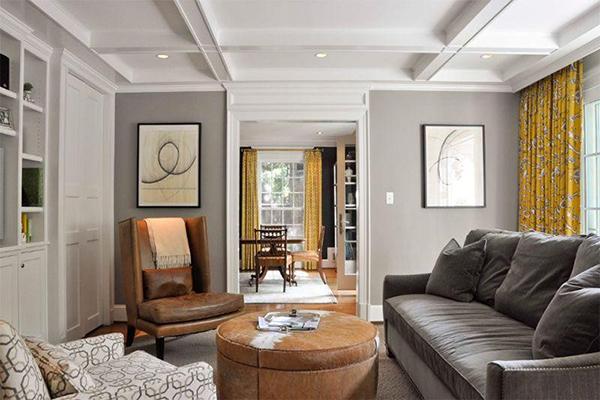 7 cách kết hợp màu sắc trong nội thất cho phòng khách thêm xinh