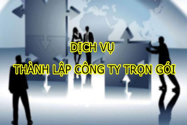 Dịch vụ thành lập công ty huyện Củ Chi nhanh chóng, giá rẻ