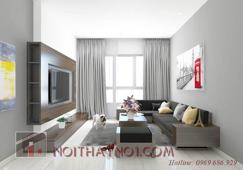 Sofa gỗ nhỏ gọn từ vật liệu cao cấp nhất