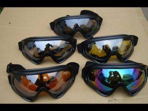 Kính chống bụi, tia UV 400 có 3 màu sắc thời trang cho bạn lựa chọn