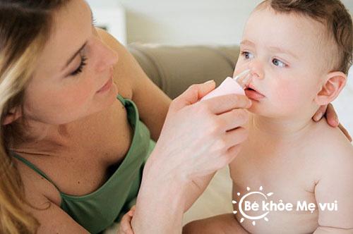 Phương pháp chữa sổ mũi hiệu quả cho bé