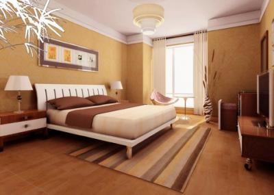 Phòng ngủ gam màu dịu nhẹ