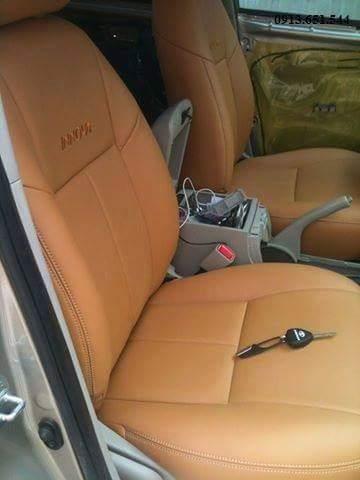 Bọc ghế giả da ô tô