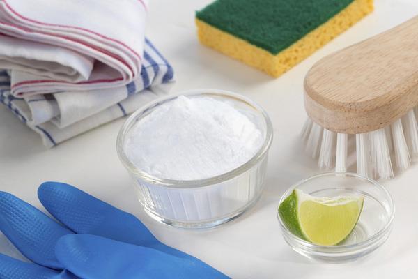 Sử dụng hỗn hợp banking soda để vệ sinh máy giặt
