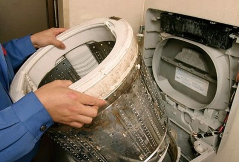 Vệ sinh lồng giặt máy LG