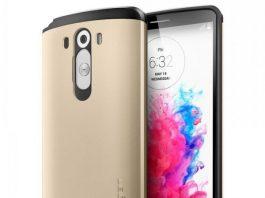 Hình ảnh điện thoại Lg G3 cùng ốp lưng