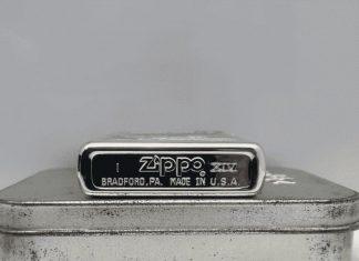 Zippo la mã là dòng zippo có năm sản xuất được đánh bằng số la mã
